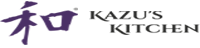 Kazu's Kitchen Logo